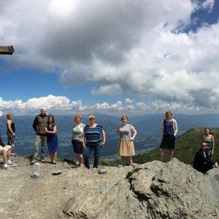 Goldeck virsotne Alpos 2142 m v.j.l.