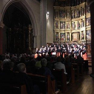 Pieci koncerti dažādās pilsētās Spānijā, 2015.gada oktobris
