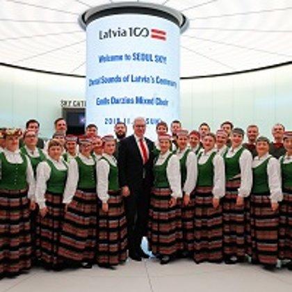 Latvijas 100-gades koncertturneja Korejā, 12.-22.11.2018.