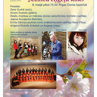 Labdarības koncerts Doma baznīcā, 2016. gada maijā