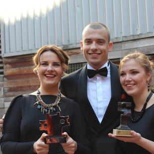 Our conductors - Nora Vītiņa, Rūdolfs Krēsliņš and Agnese Urka